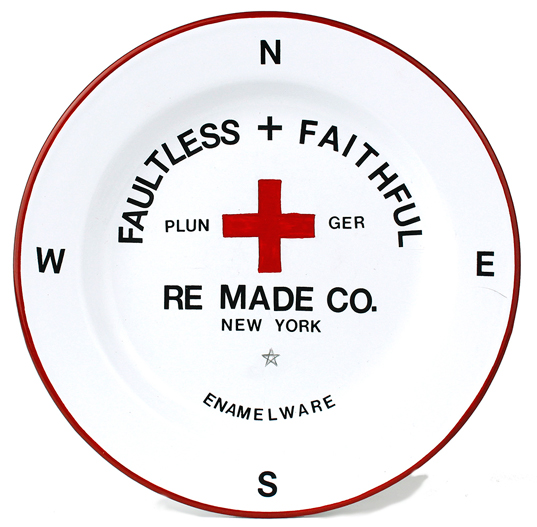 Faultless & Faithful Enamel Plates