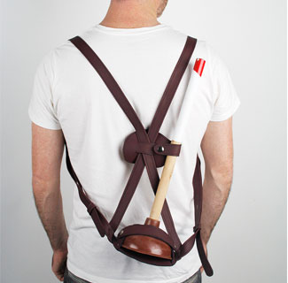 The Leather Plunger Sling $165